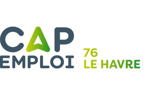 Logo Cap emploi 76 Le Havre, Le Havre (Réseau Cap emploi)
